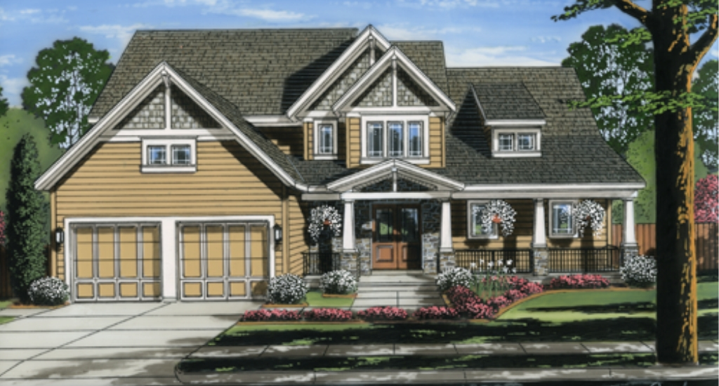 Featured Pre-Drawn Home Plan