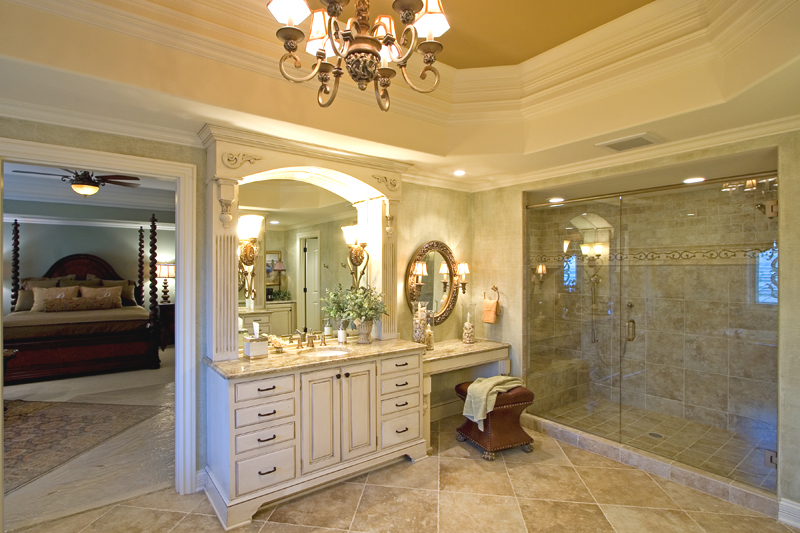 2 Master Bathrooms Plans