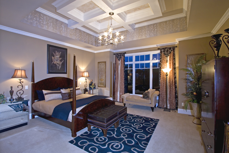 Custom master bedrooms drawn by studer residential designs for Custom bedroom designs