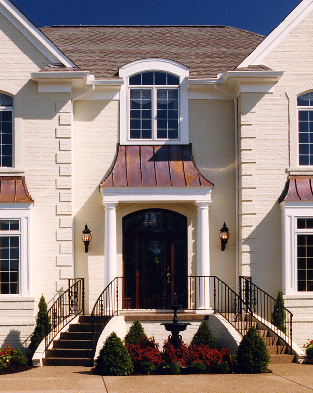 Exterior photos of House Plans drawn by Studer Residential Designs Inc