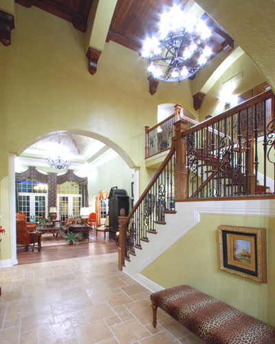 Unique Home Entryway Designs: Foyer Photos Of Custom House Plans By Studer Residential