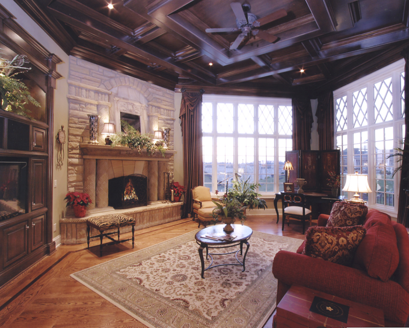 Hearth Room Photos In Custom House Plans By Studer Residential Designs Inc