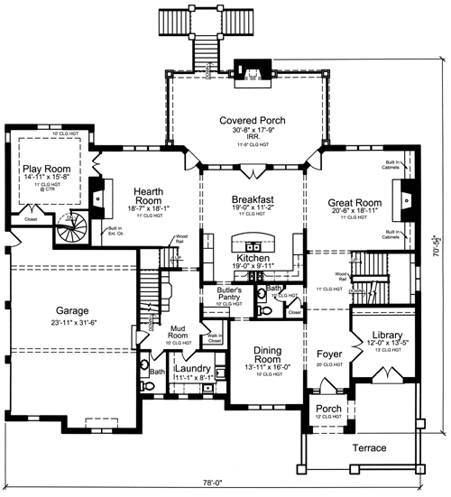 Luxury Home Plans ...