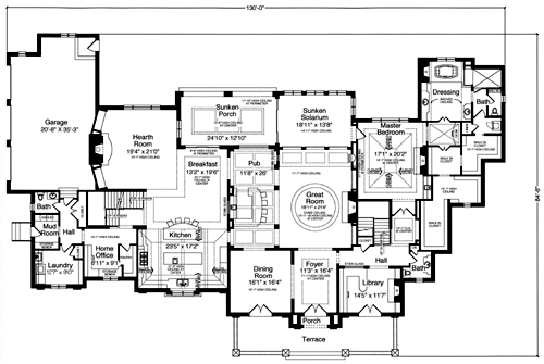 House Plans Designed With Luxury In Mind By Studer Residential Designs - Floor plans for luxury homes