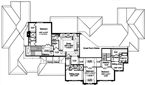 House Plans Designed With Luxury In Mind By Studer Residential Designs - Luxurious home plans
