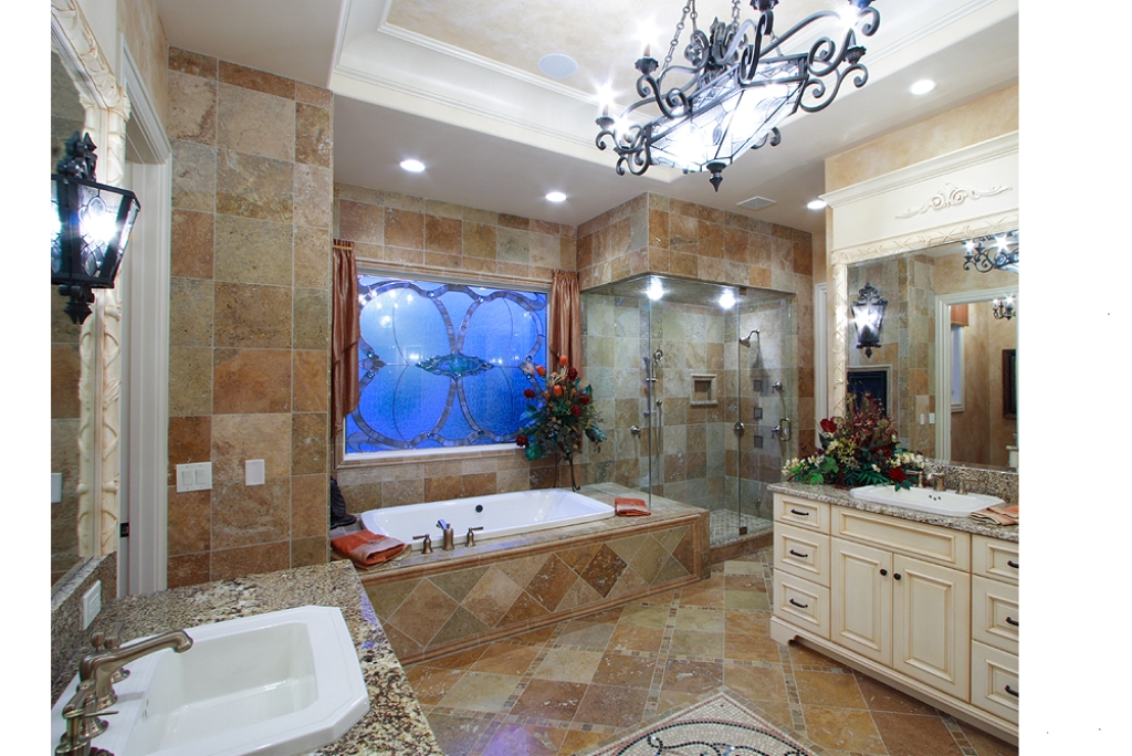 Ca d Zan Master Bath Photo