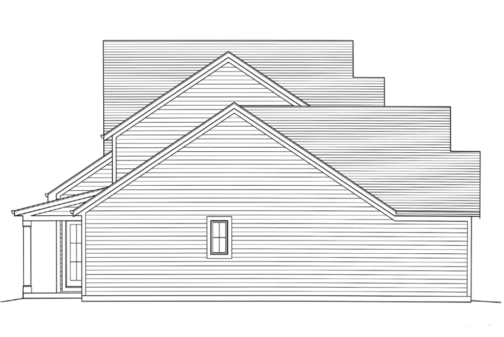 SRD 584 Champlain Right Side Elevation