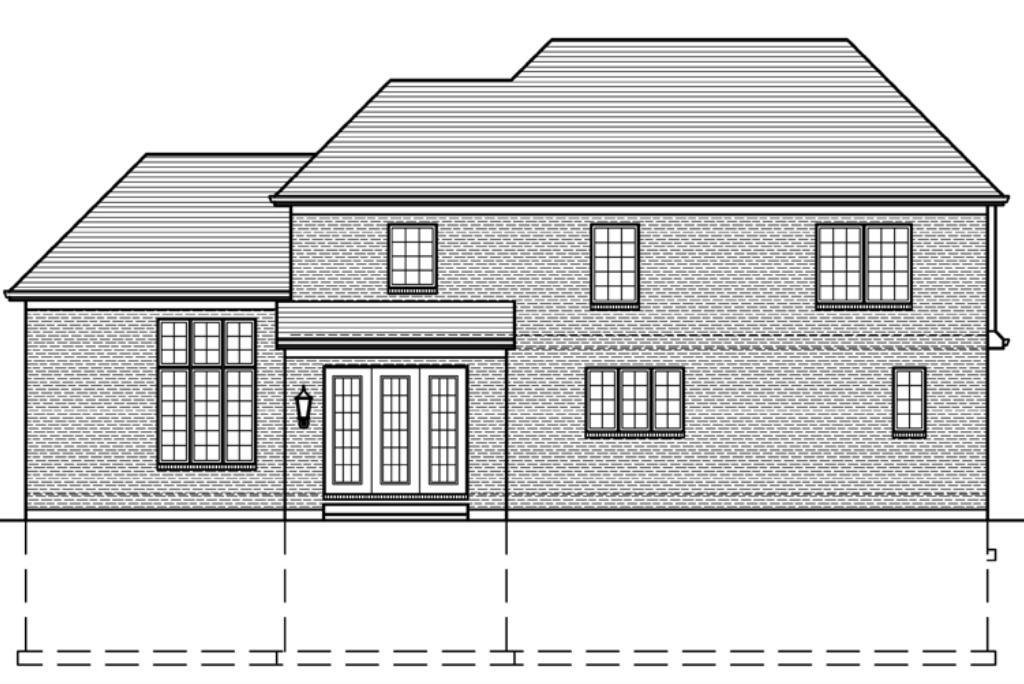 SRD 689 Chestnut Hill Rear Elevation