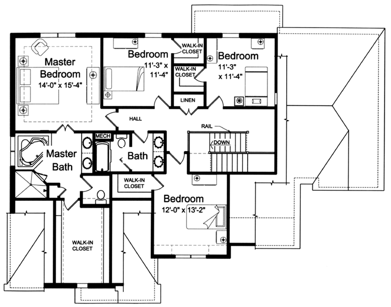 master bedroom plans.  House Plans Designed with Luxury in mind by Studer Residential Designs