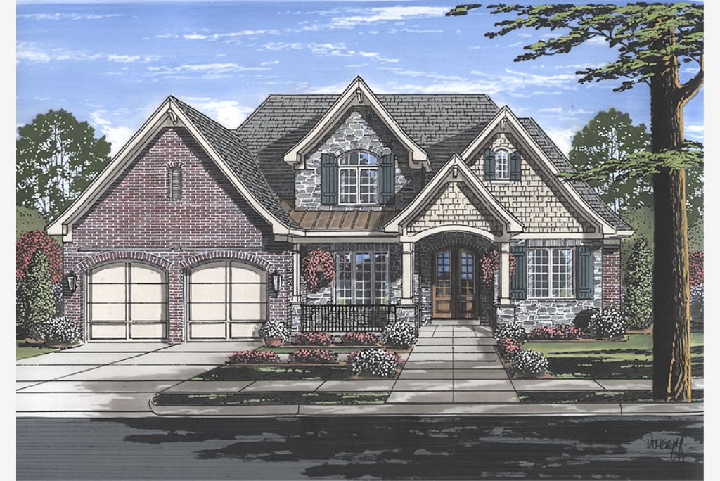 House Plans Designed with Luxury in mind by Studer ... on for a ranch style home addition floor plans, atrium ranch house floor plans, basement ranch house floor plans, bedroom with two master suites house plans,
