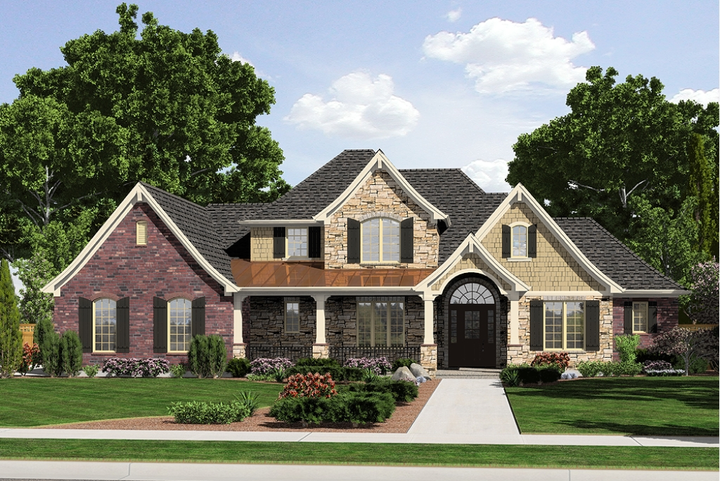 Two Story First Floor Master Home Plans