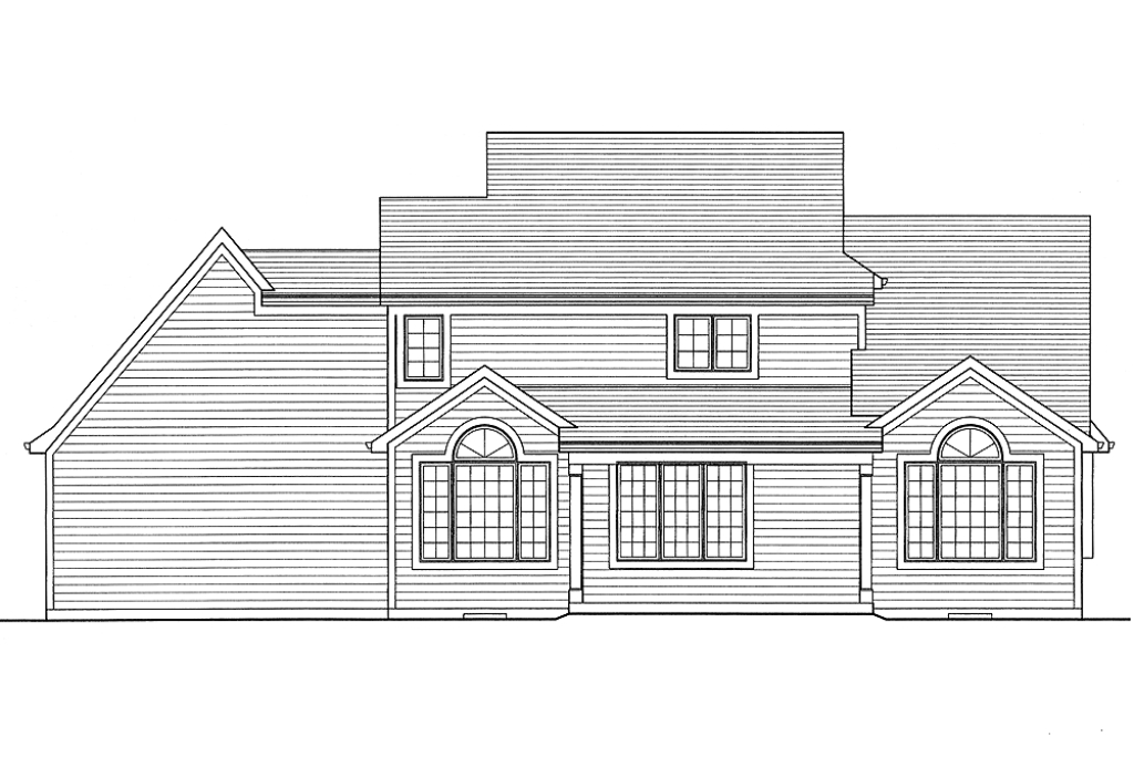 All plans the evandale srd 524 evandale rear elevation malvernweather Gallery