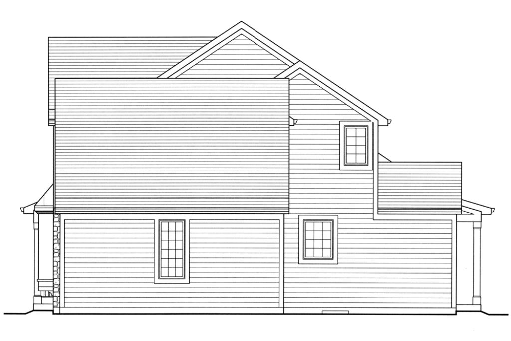 All plans the evandale srd 524 evandale right side elevation malvernweather Gallery