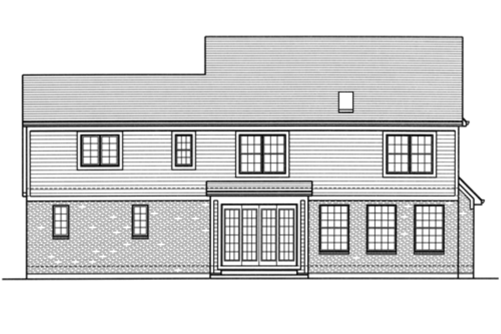 Montclaire Rear Elevation