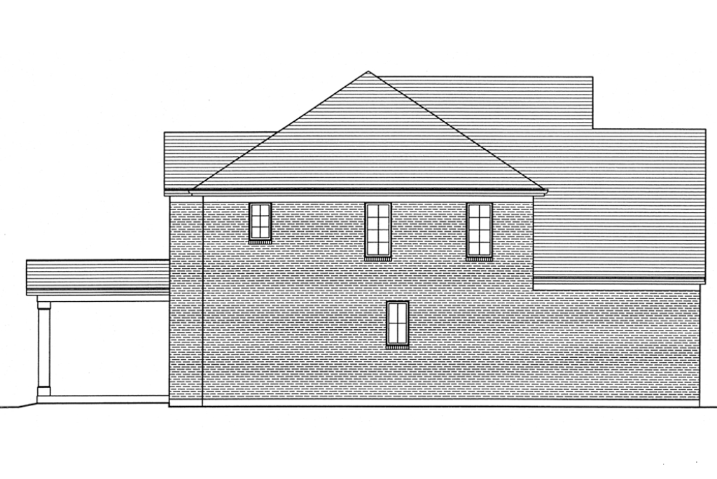 SRD 582 Willowby Left Side Elevation
