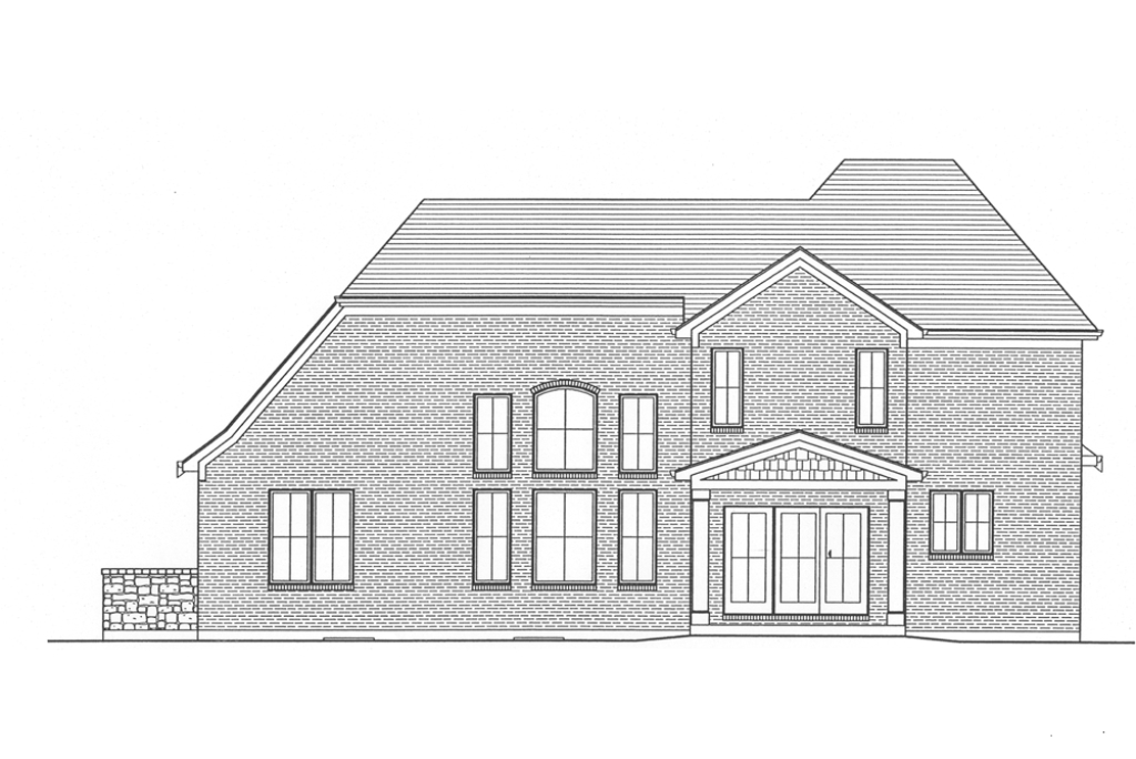 SRD 582 Willowby Rear Elevation