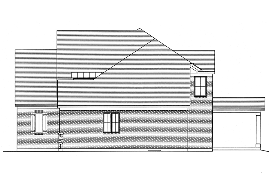 SRD 582 Willowby Right Side Elevation