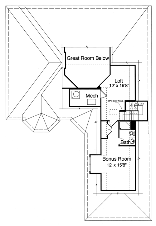 Patio Home Plans From The Pre Drawn Stock Plan Collection Of Studer  Residential Designs