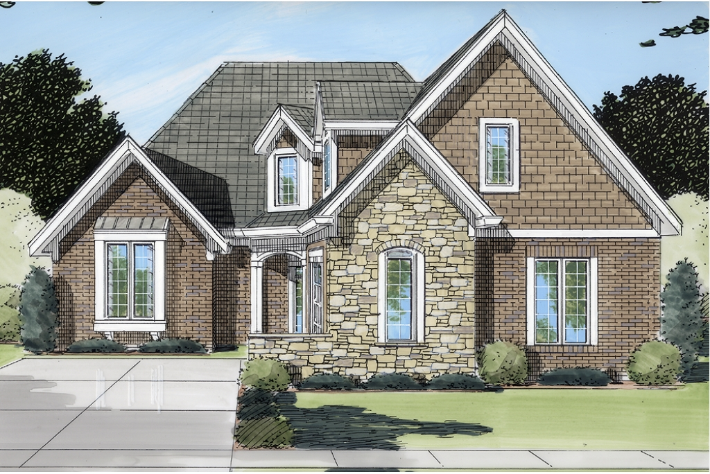 patio home designs. The Williamstown A Patio Home Plans From the Pre drawn stock plan collection of