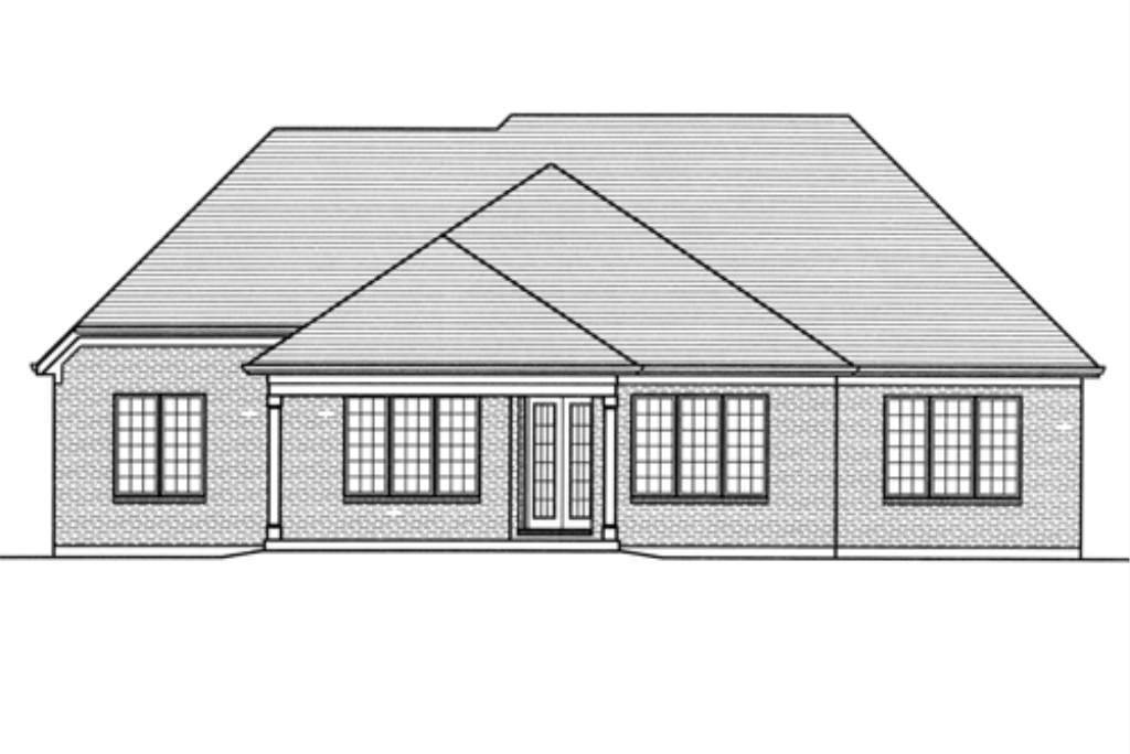 SRD 685 Amherst Rear Elevation