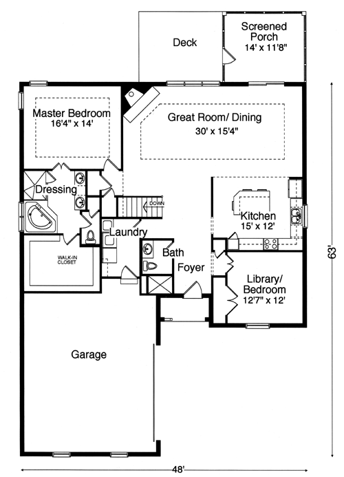 Empty nester house plans designs house and home design for Best empty nester house plans