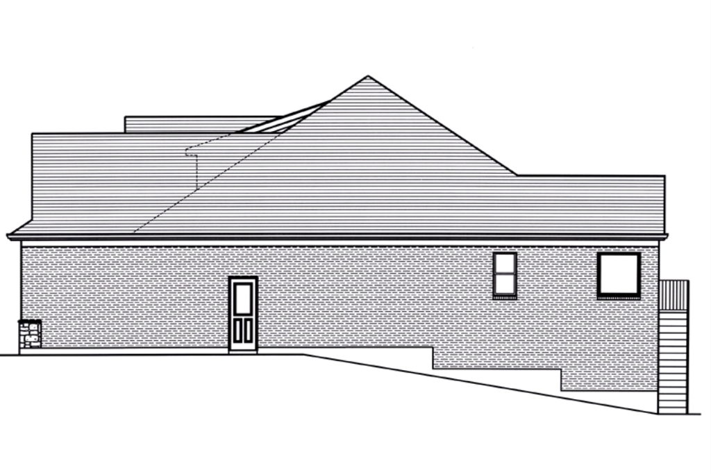 SRD 712 Belmont Right Side Elevation