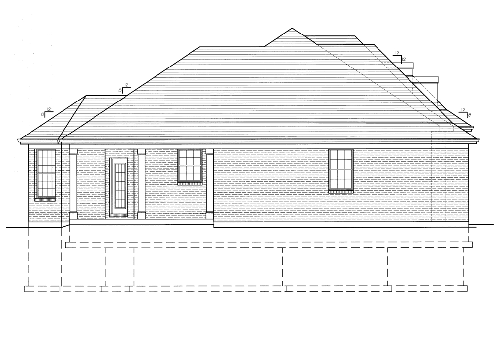 Camwell Left Side Elevation