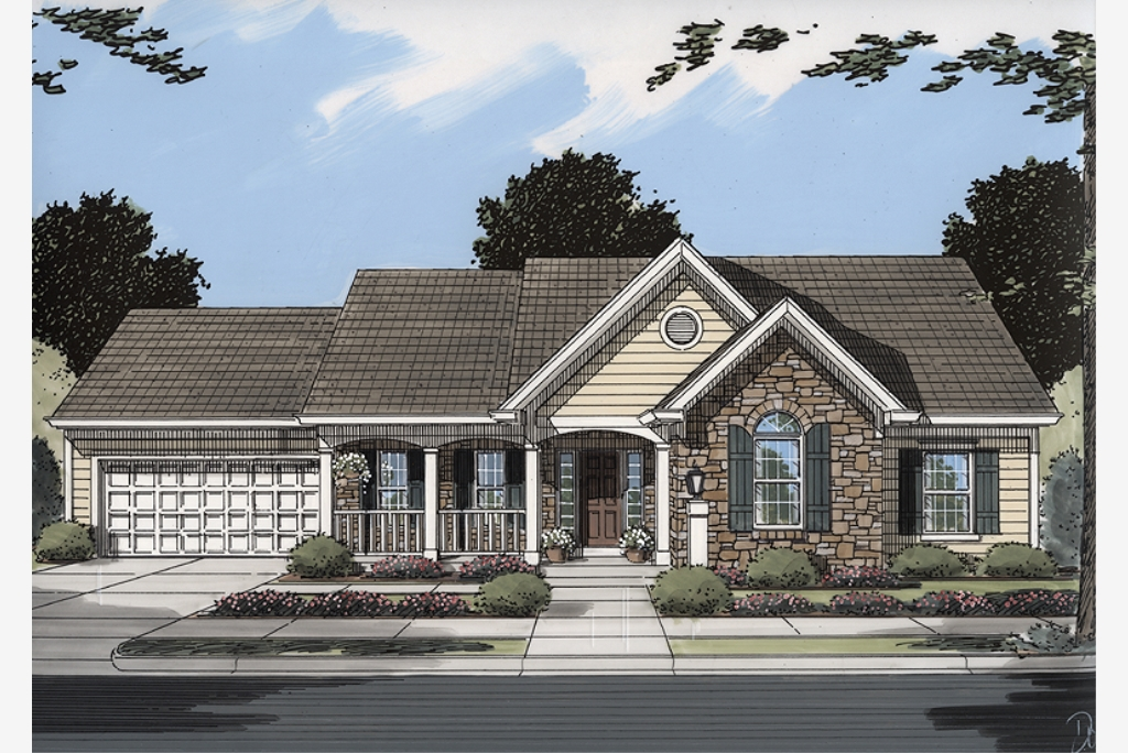 New House Plans drawn by Studer Residential Designs on