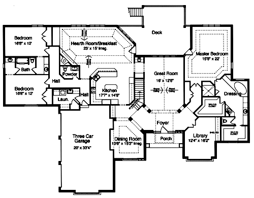 House plans for empty nesters house plan 2017 for Luxury empty nester house plans