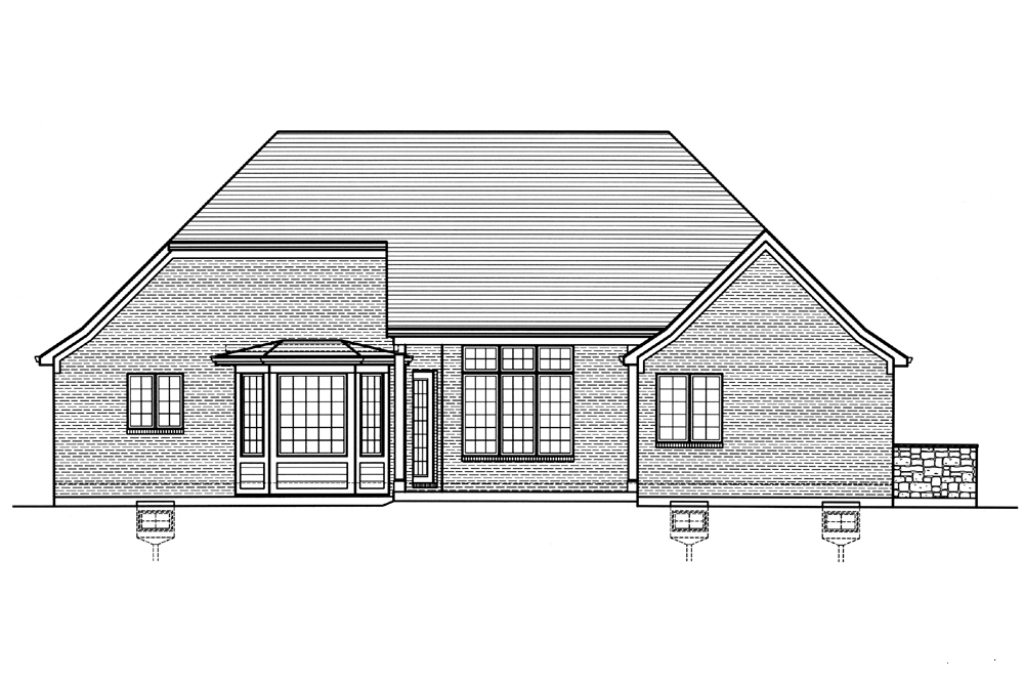 SRD 607 Willowcrest Rear Elevation