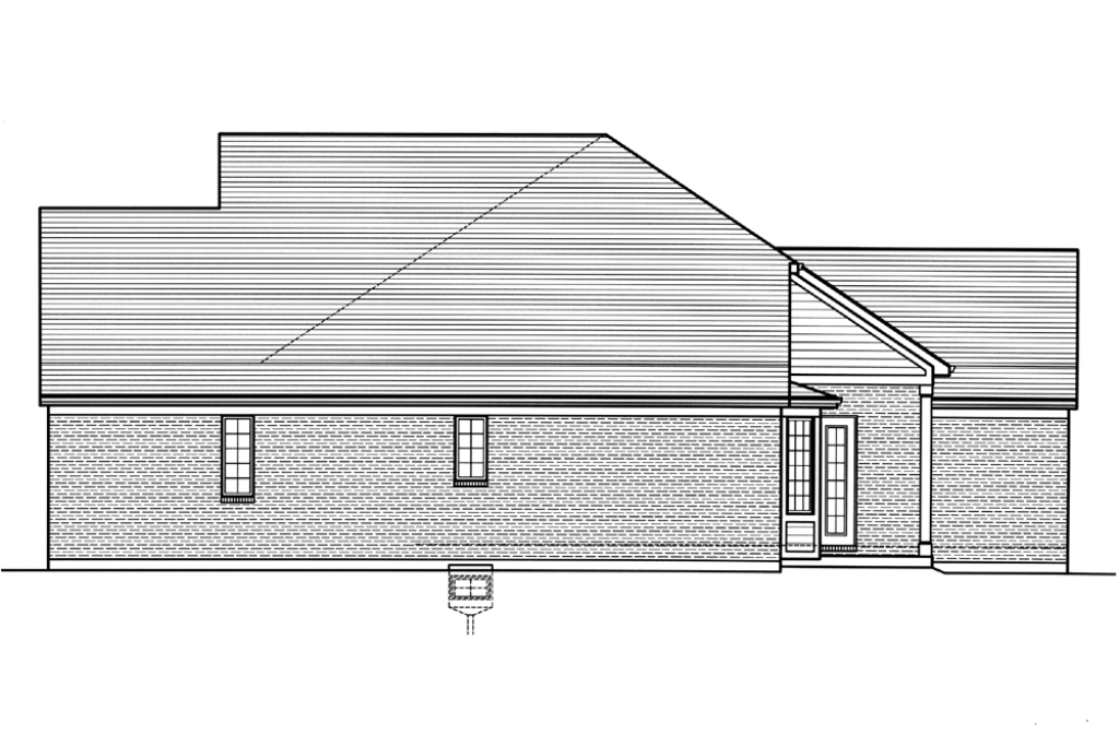 SRD 607 Willowcrest Right Side Elevation