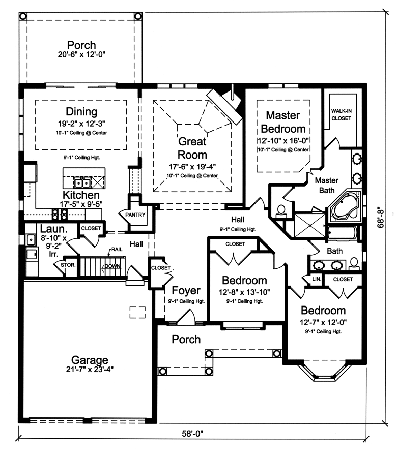 Home of the month plan for Windemere homes floor plans